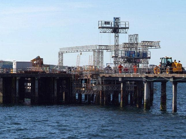Hunterston Jetty Repair - Phase 2 - Image 9